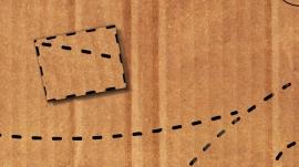 Cardboard Rocketships Artwork